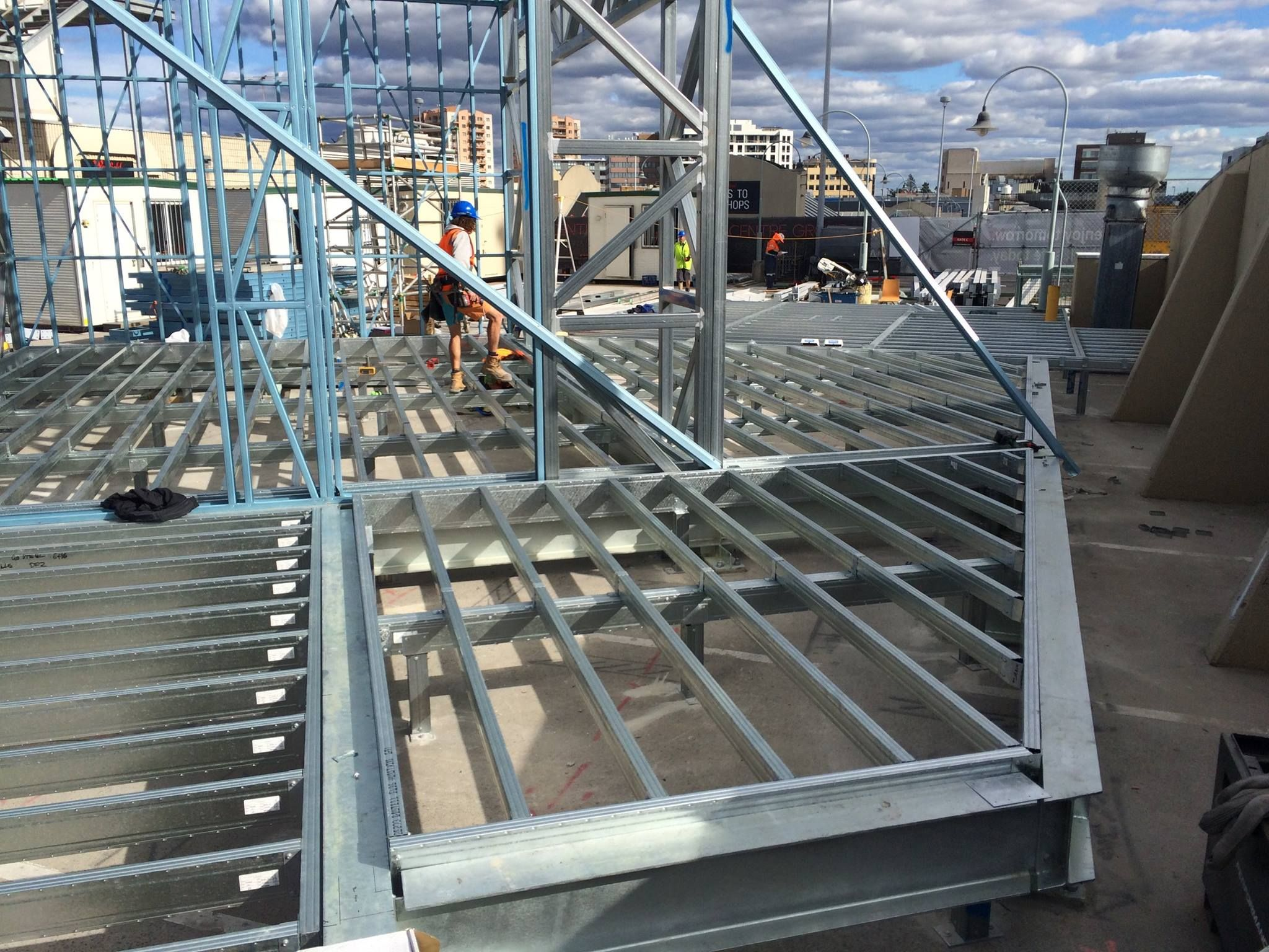 Boxspan DIY Steel Deck Kits & Verandah Floor Frames (Non