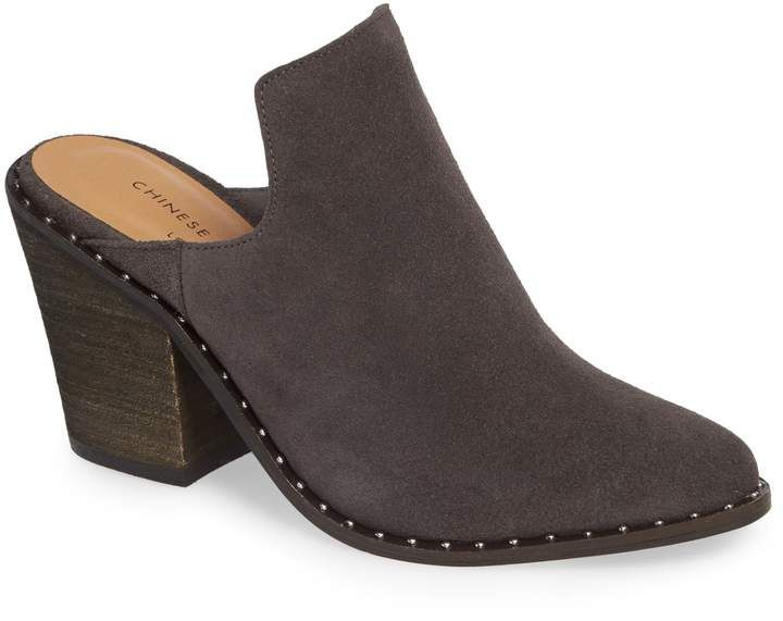 8d034953b Women's Chinese Laundry Springfield Mule Bootie, Size 6 M - Black in ...