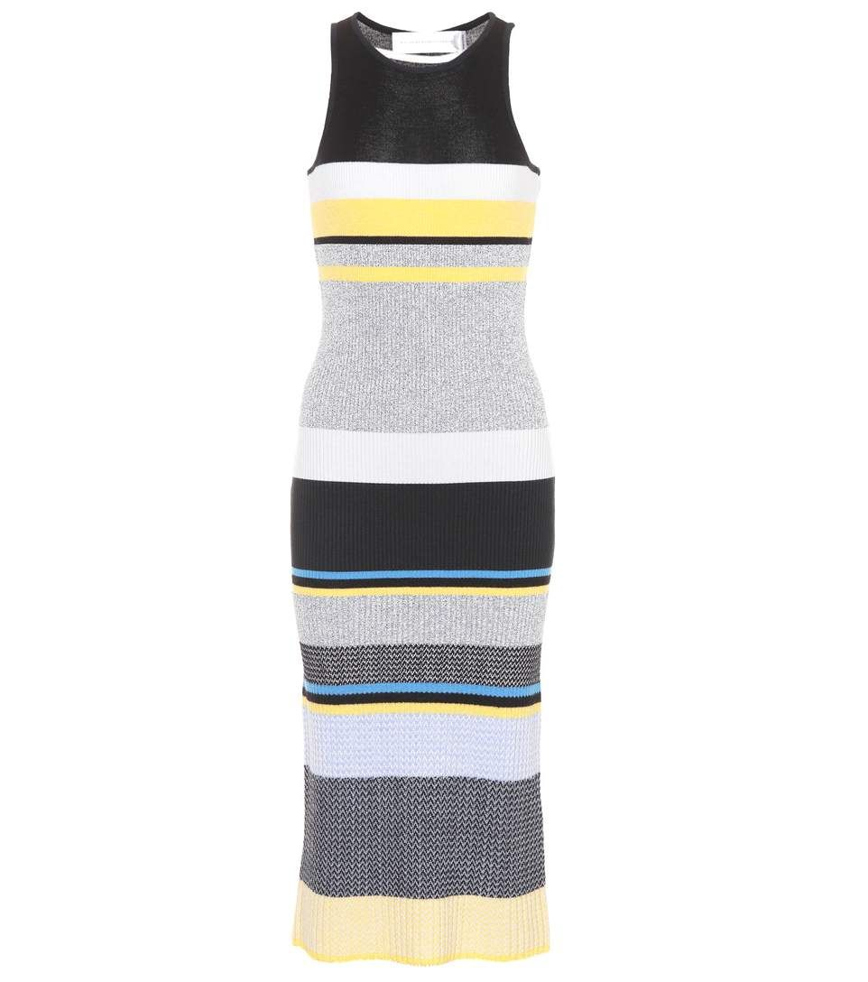 Knitted wool-blend dress Victoria Beckham Many Styles Free Shipping 2018 Buy Cheap New Cheap With Credit Card L1tlhTRw