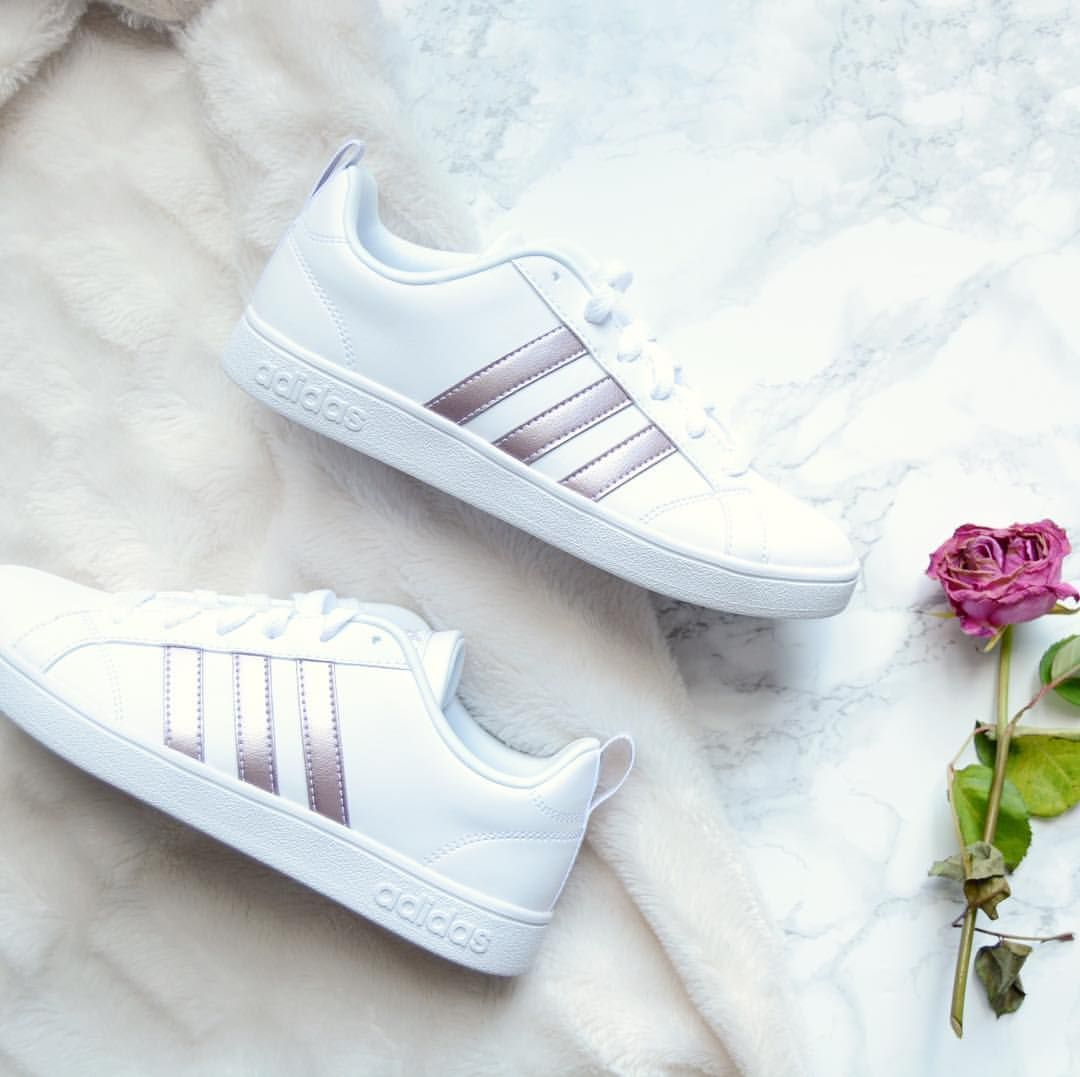 adidas cloudfoam advantage rose gold
