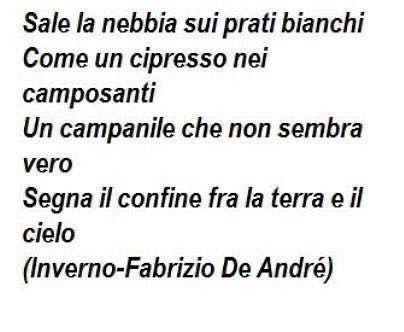#frasi #frasibelle #frasiitaliane #fabriziodeandré