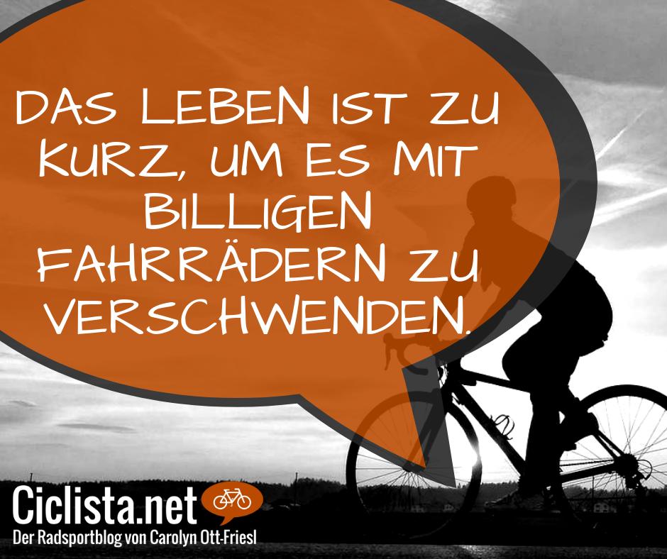Lustige Fahrradsprüche Das Leben Ist Zu Kurz Um Es Mit