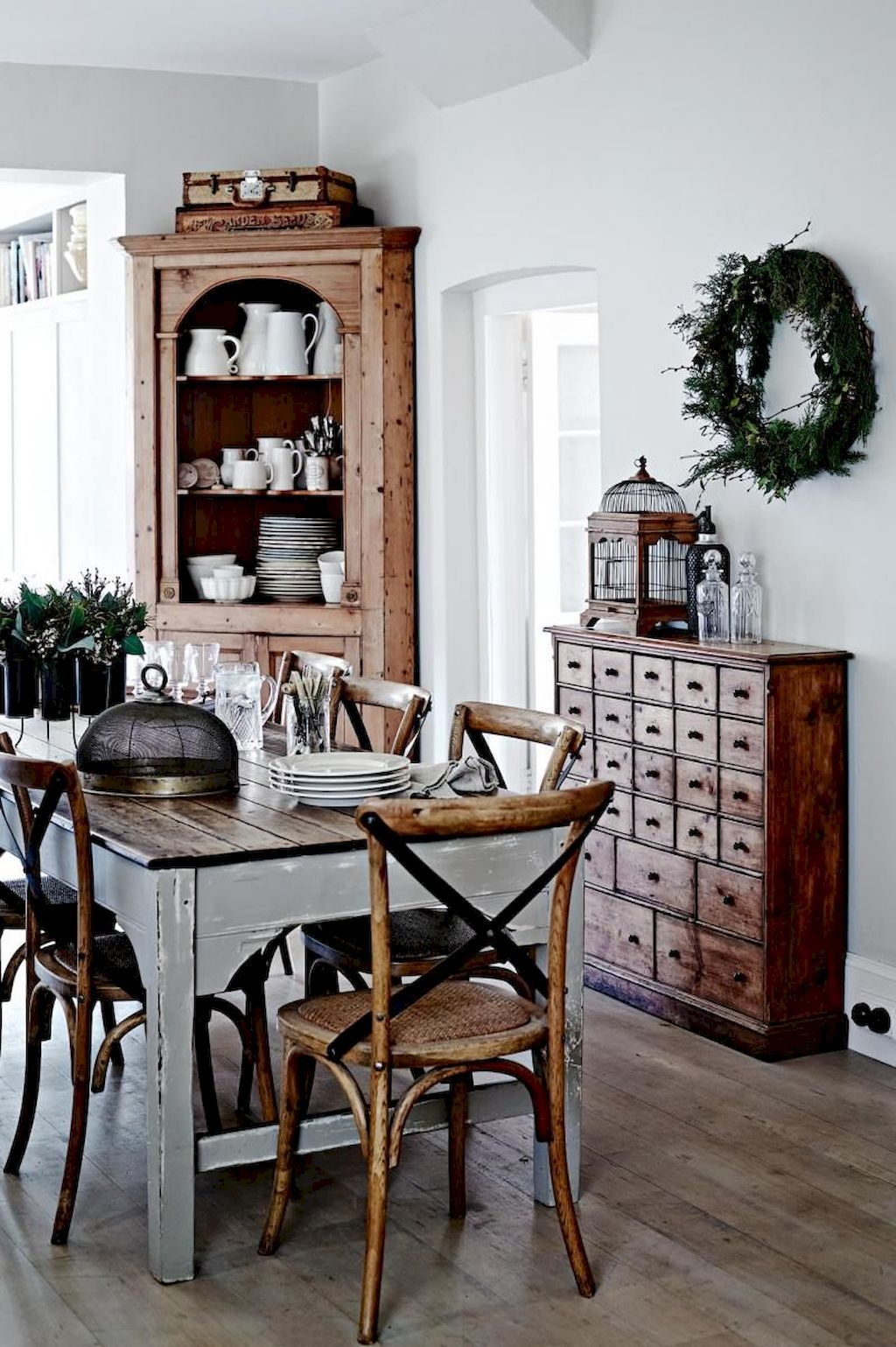 60 Dining Table Inspirations For Diy Farmhouse Concept Elonahome Com Farmhouse Dining Room Farmhouse Dining Rooms Decor Rustic Dining Room