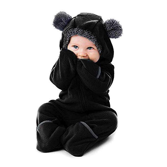 648194fc3 Joint Baby Coat, Toddler Girls Boys Fleece Baby Bunting Onesie ...