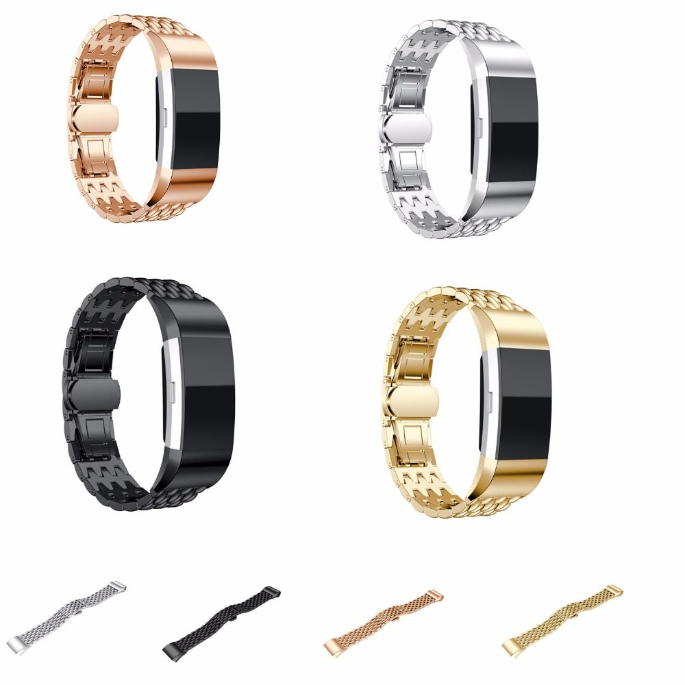 Click to buy ucuc crested fashion sport watch band for fitbit charge