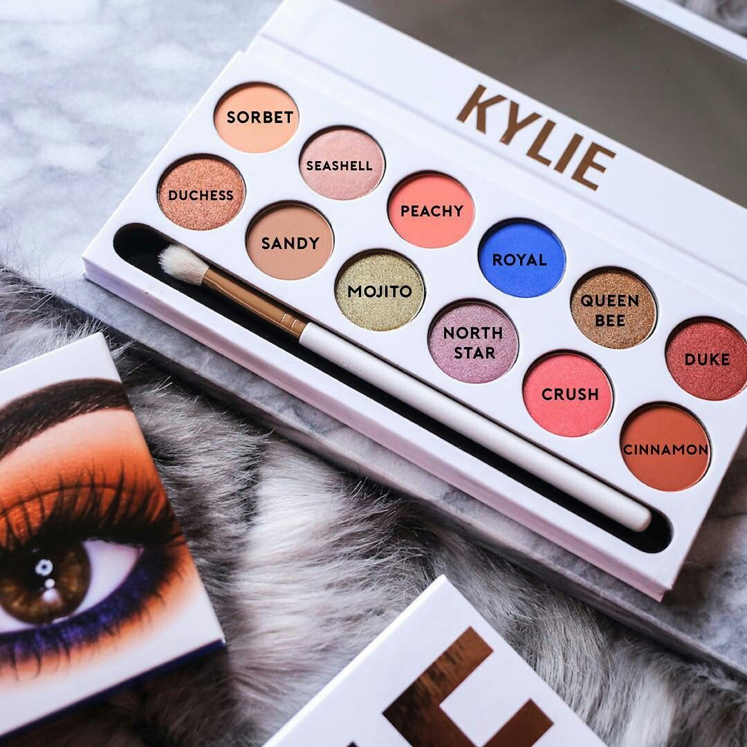 Pin by Saige on Makeup Kylie cosmetics eyeshadow, Kylie