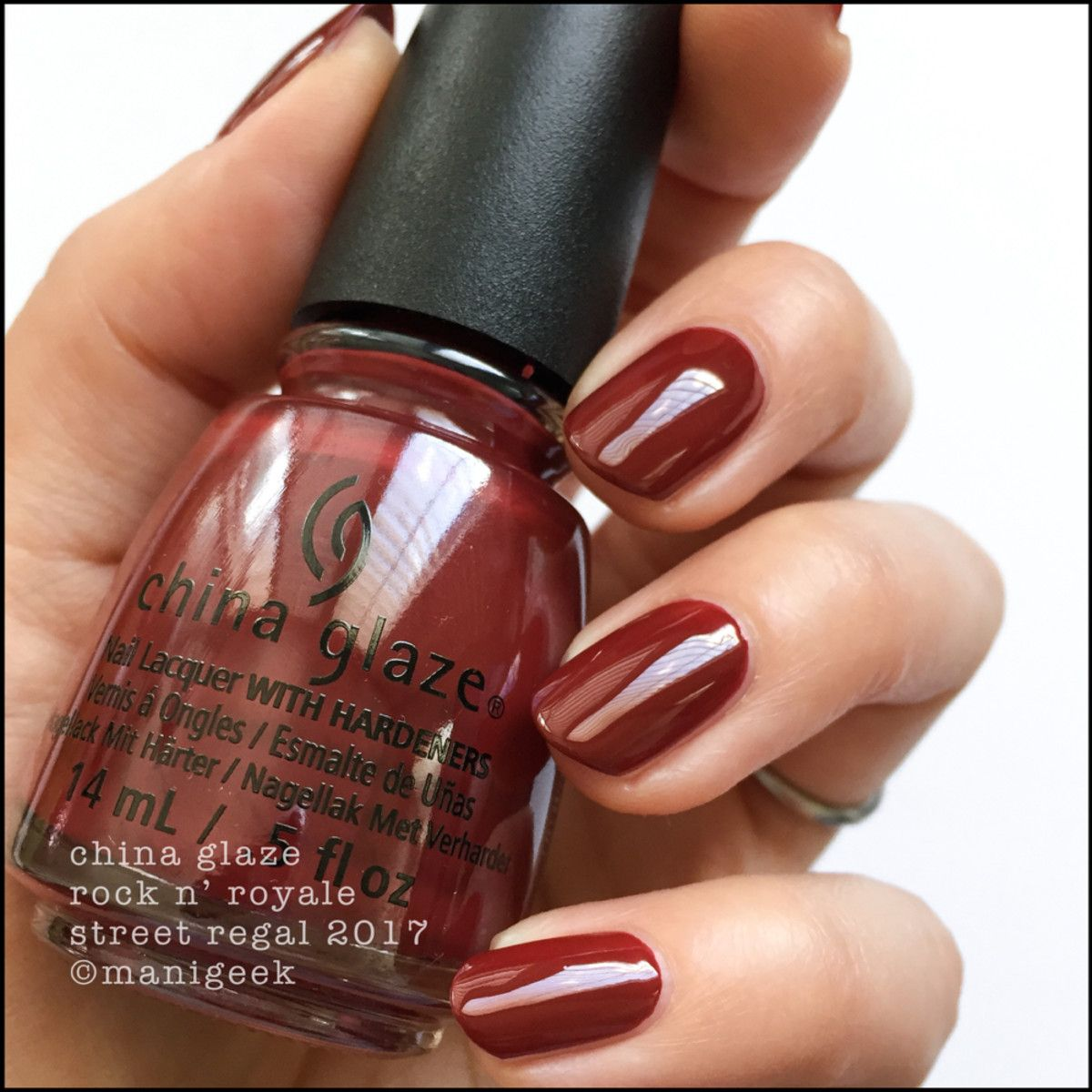 China Glaze Street Regal Fall 2017 Collection Swatches Amp Review Nails China Glaze Nail