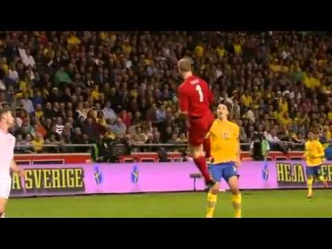 Sweden Vs England 4 2 Zlatan Ibrahimovic Unbelievable Bicycle