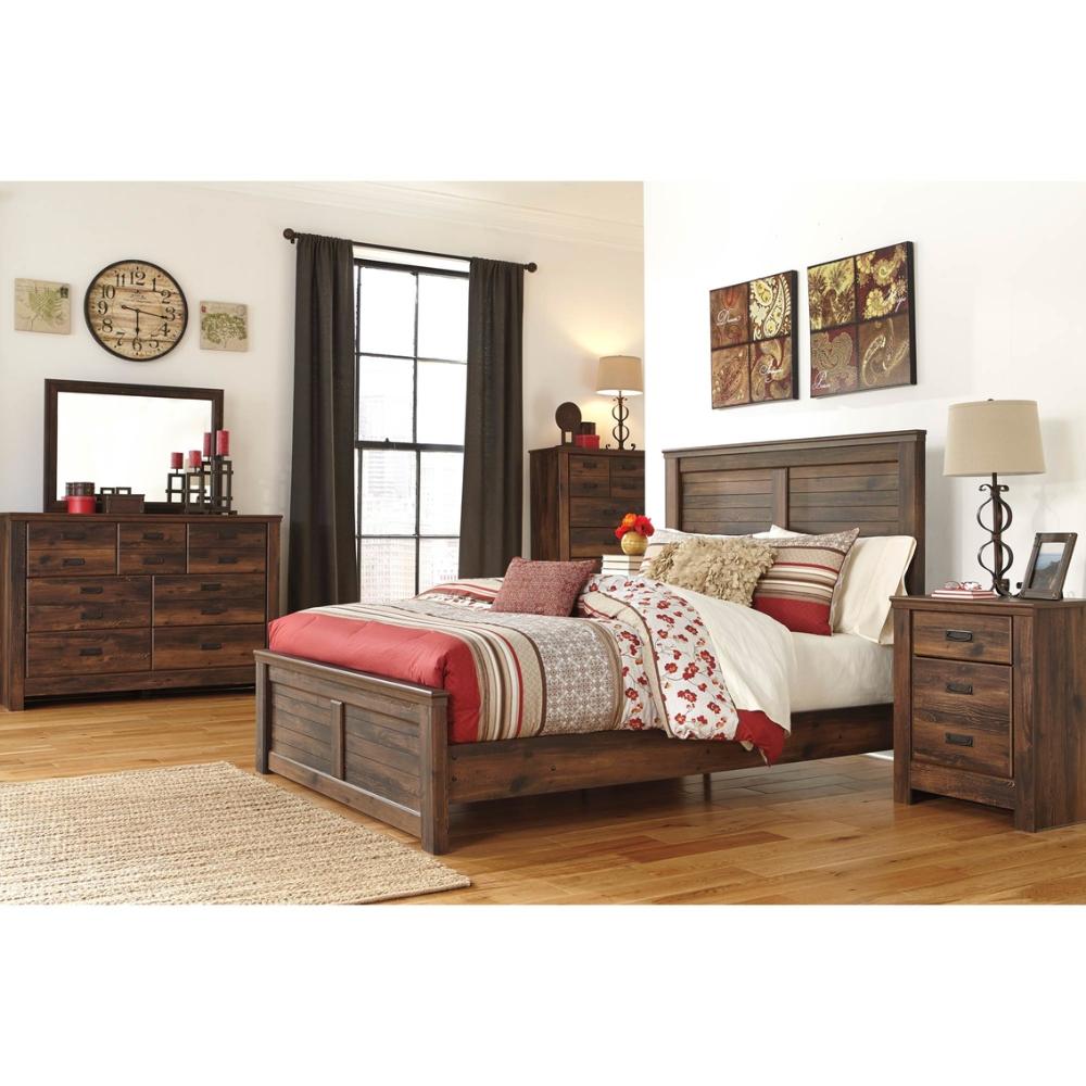 Signature Design By Ashley Quinden Panel Bed 5 Pc Set Bedroom Sets Home Appliances Shop The Exchange Furniture Bedroom Panel Ashley Furniture
