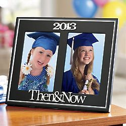 Then Now Graduate Frame Graduation Gift Ideas Graduation