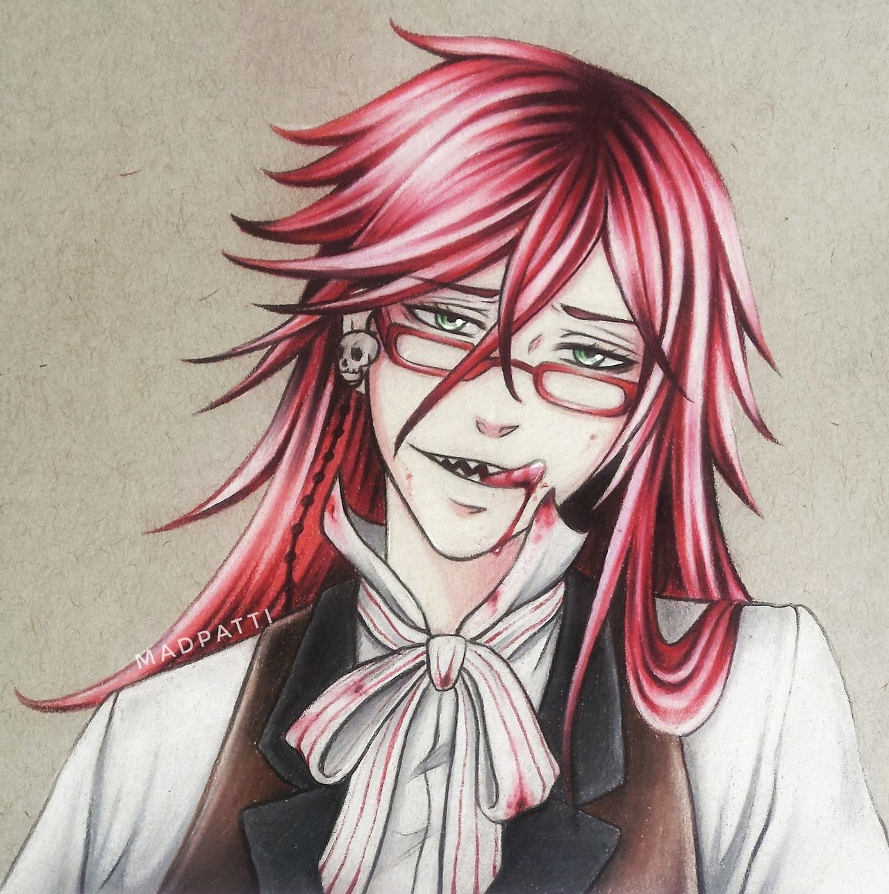 Pin on Black Butler [Mostly Grell]