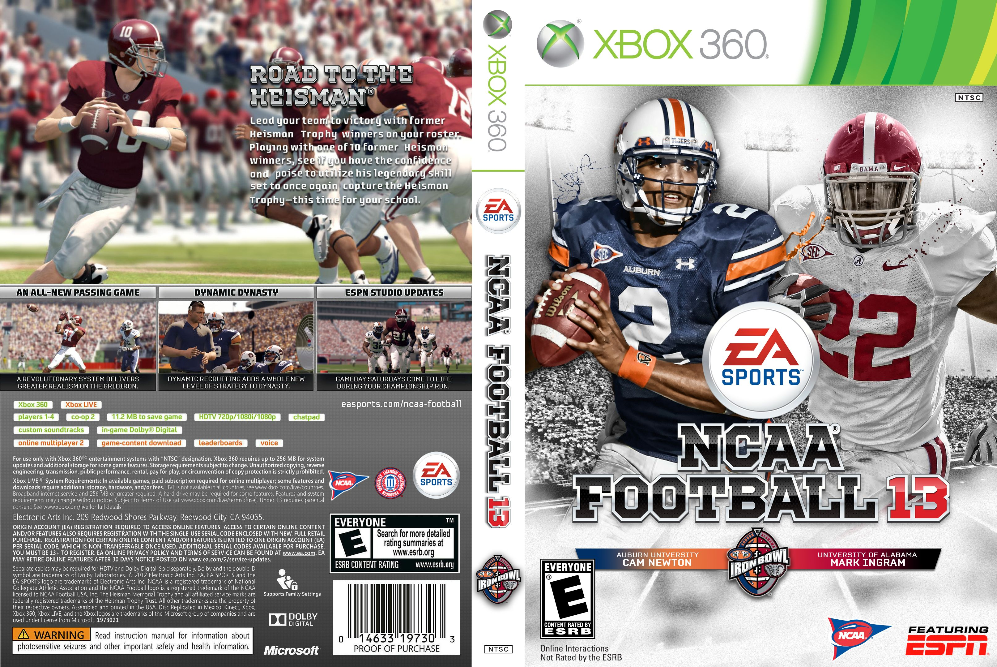 Iron Bowl full box cover Ncaa football, Rivalry, Sports