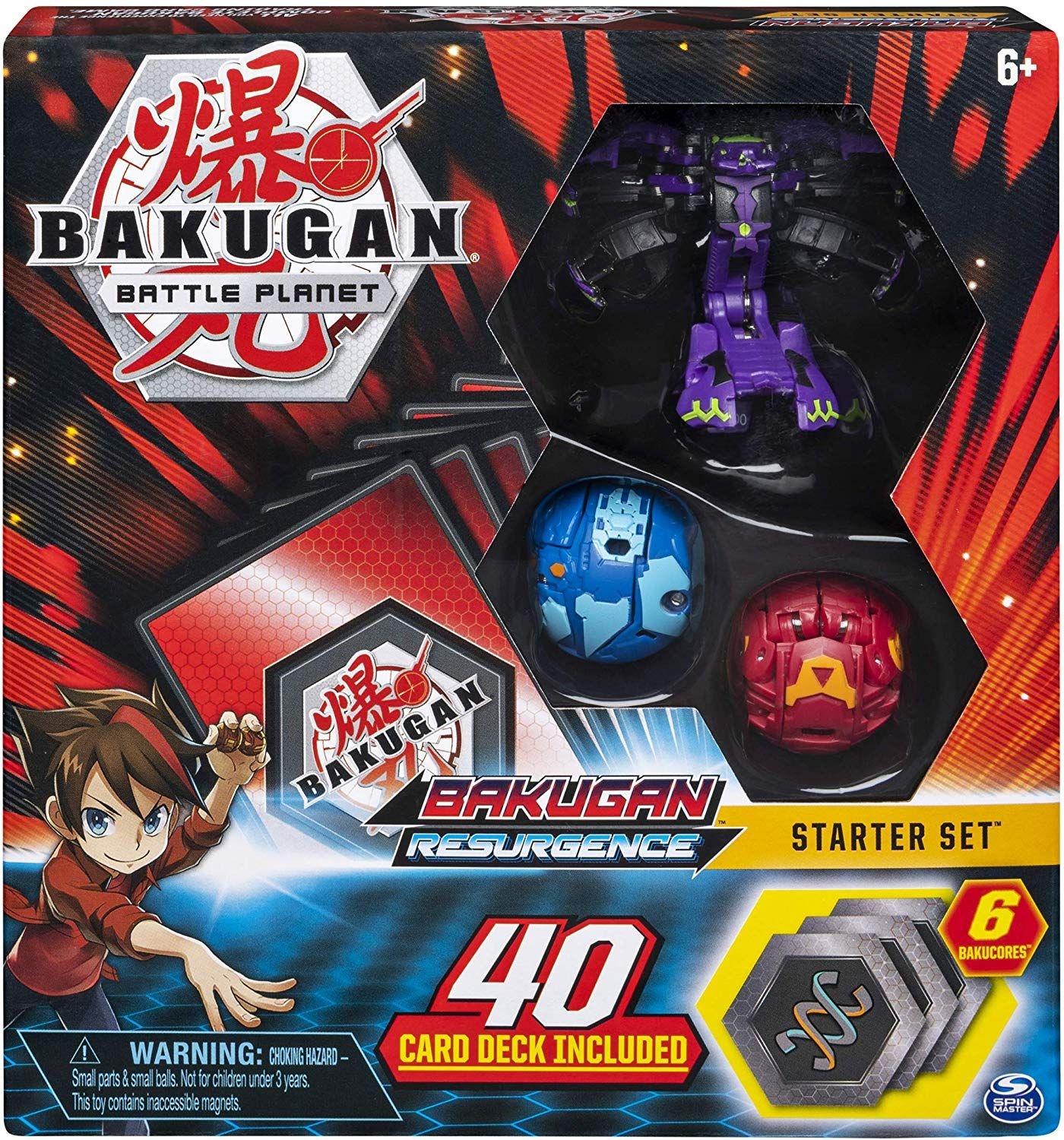 Bakugan Battle Brawlers Starter Set With Transforming Creatures