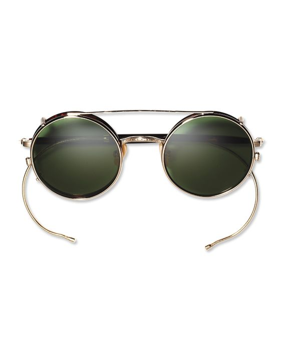 260cc9d22336 Shop 10 Pairs of Throwback Sunglasses - 1920: CABLE TEMPLES: The secure  wraparound design was a favorite of galloping equestrians. Moscot, $305;  moscot.com ...