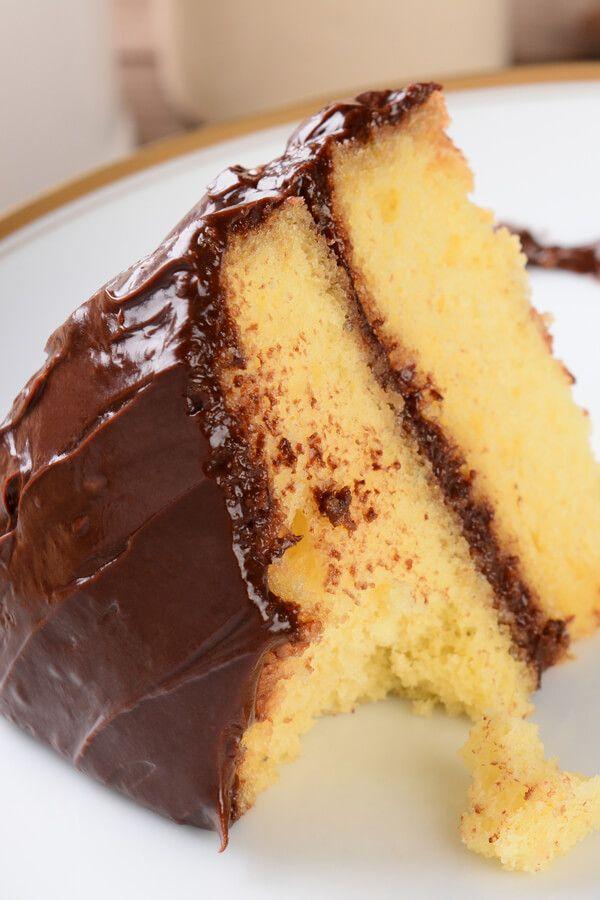 Moist Buttermilk Yellow Cake Recipe Cdkitchen In 2020 Cake Recipes Yellow Cake Recipe Moist Yellow Cakes