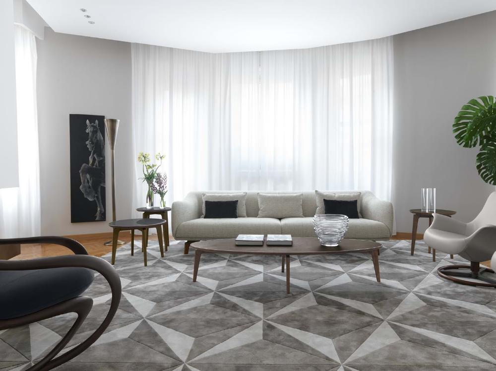 Geometric rug, Rugs, Furniture