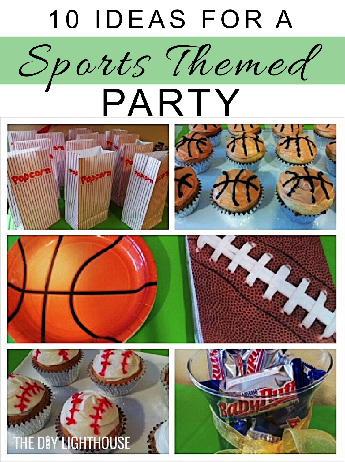 10 Ideas For A Sports Themed Party  Sports Theme Birthday -1966