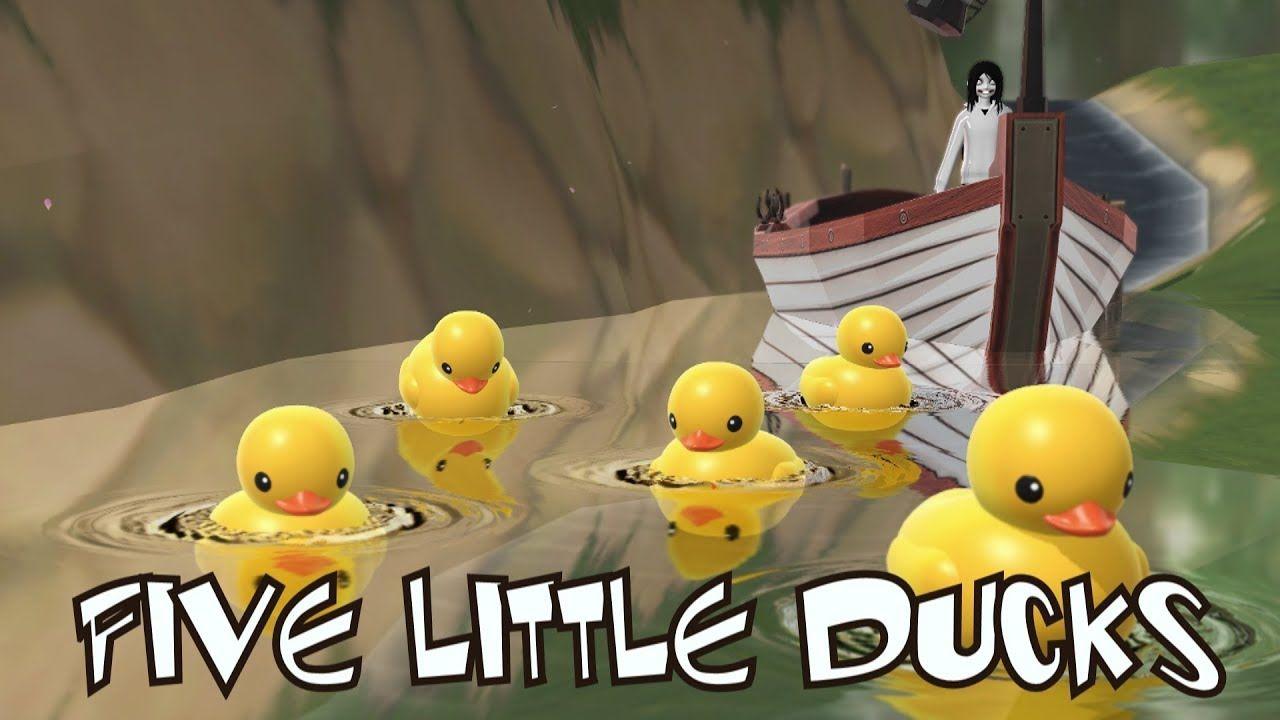 Five Little Ducks Song | Car Songs | Kids Songs | Frozen Songs ...
