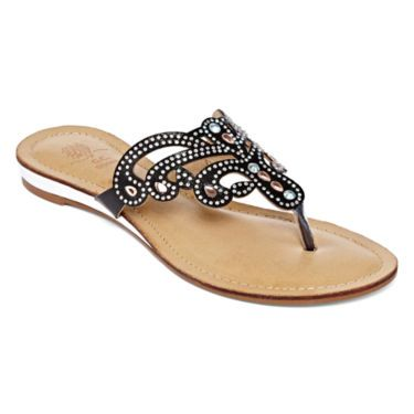 jcp | GC Shoes Miss Universe Embellished Sandals
