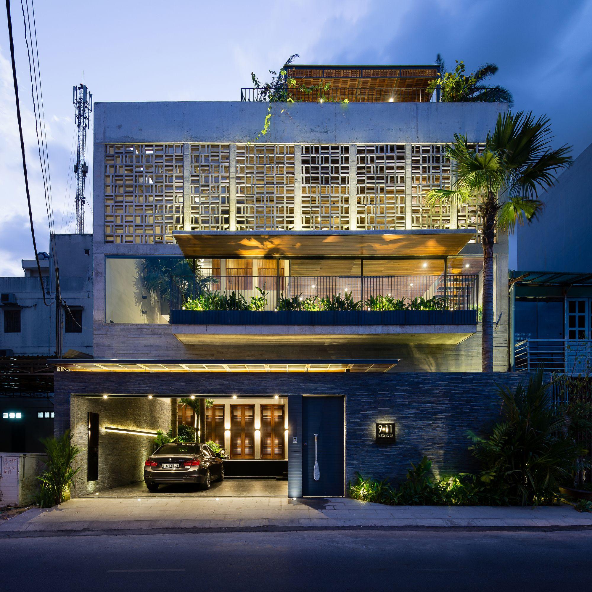 Zil House Design Elevation on