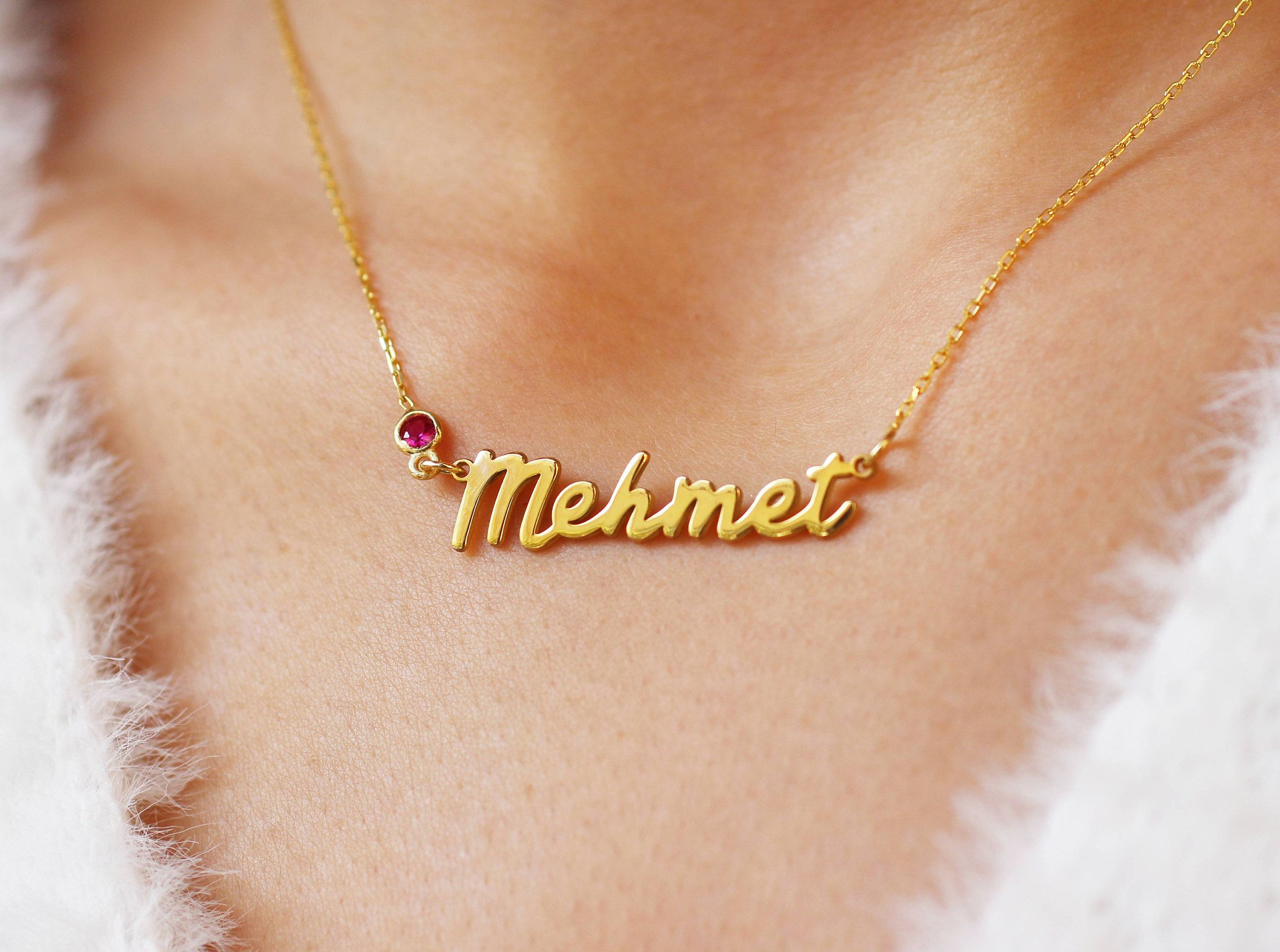 Personalized Name Necklace Custom Name Necklace Children Name Gift Christmas Gift