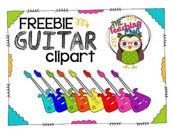 Electric Guitars Clip Art