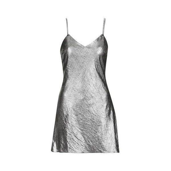 Silver Low Back Dress