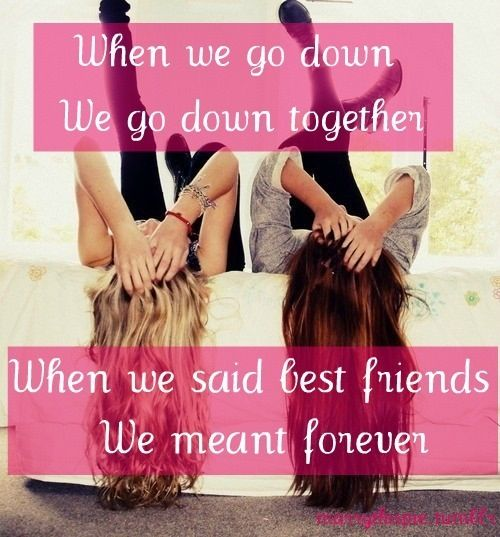 Best friends forever and always | lean on me >:) | Pinterest ...