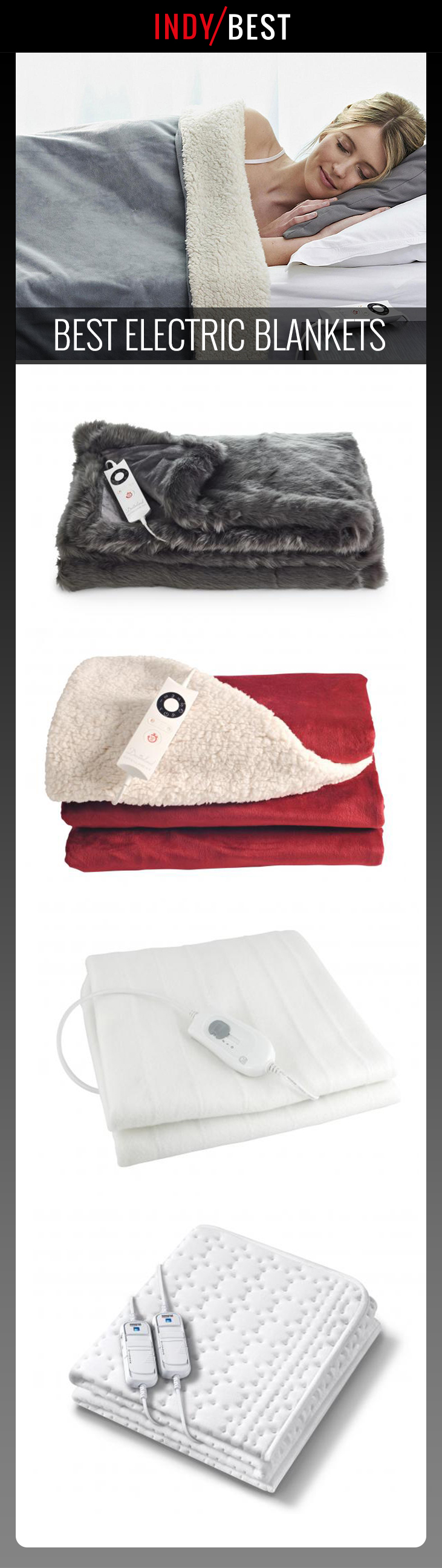 10 best electric blankets to keep you warm through the