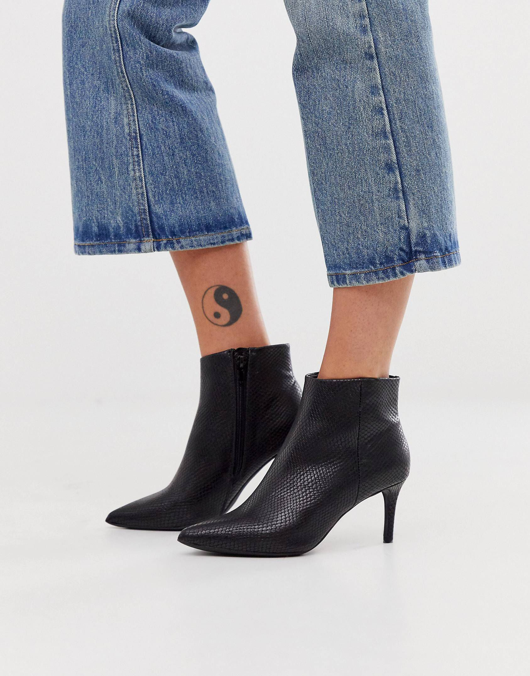 Pin By Cartergirl City On Wear Kitten Heel Boots Boots Heeled Boots