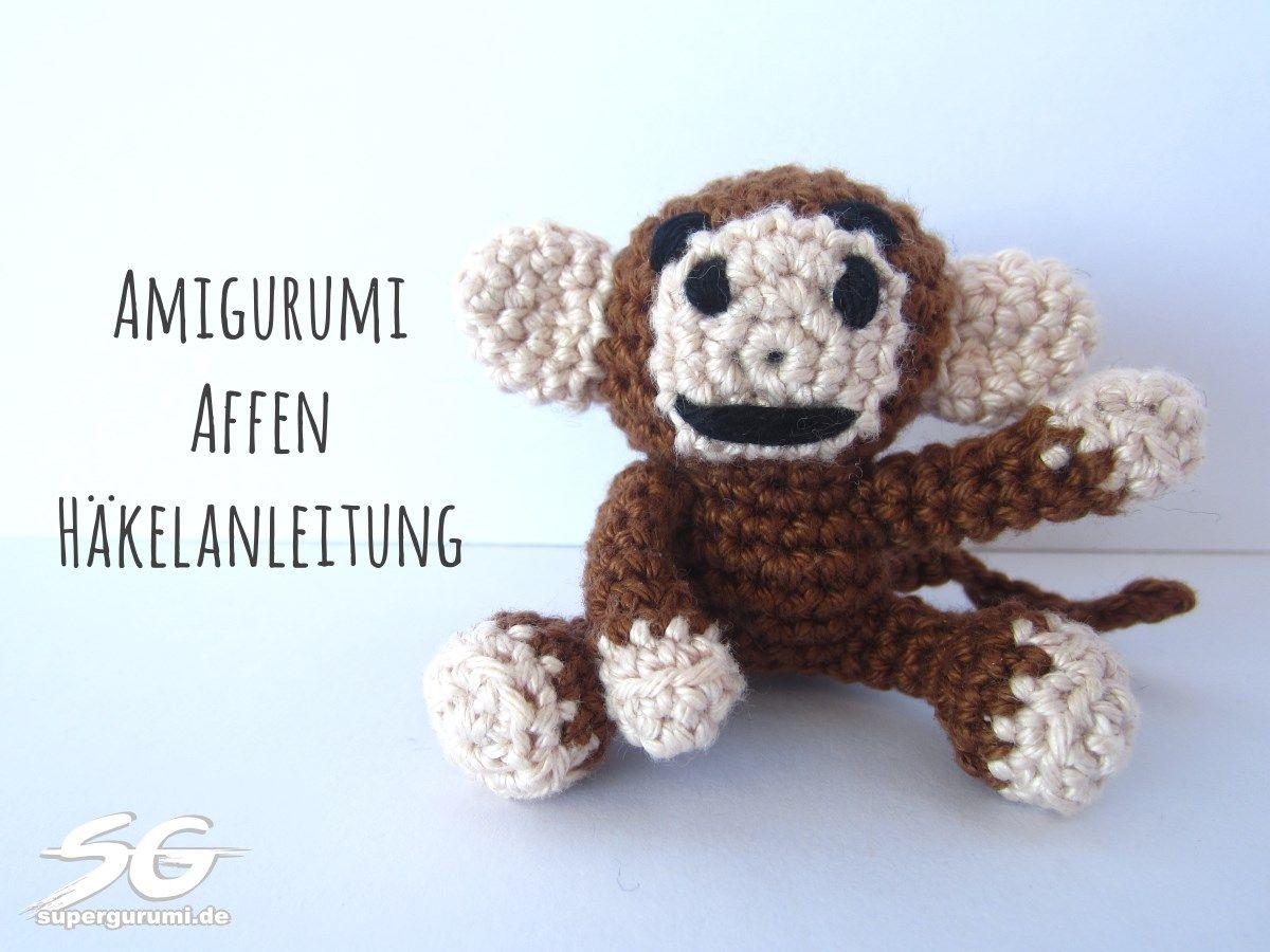 2101000 Häkeln Sie ihren eigenen kleinen Amigurumi Affen mit dieser ...