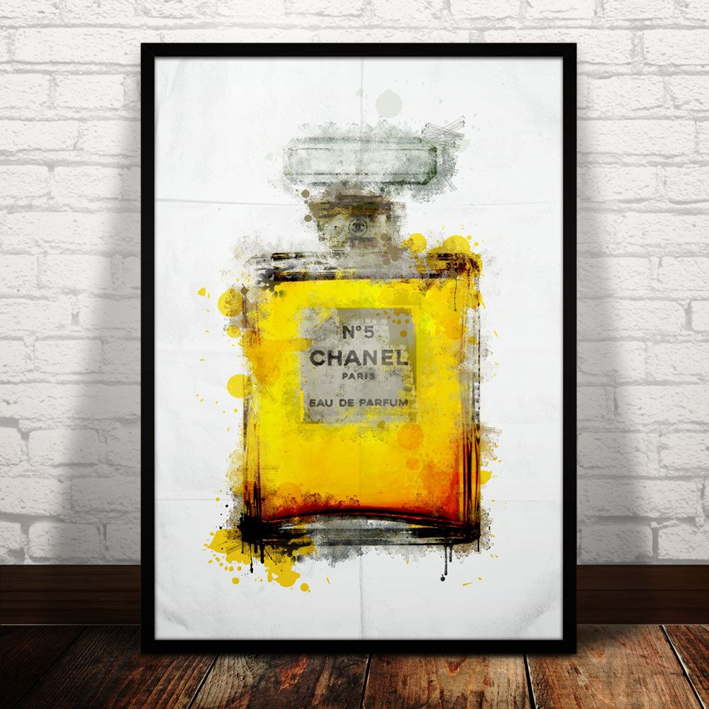 Chanel No. 5 | Wall Art | Pinterest | Chanel poster, Chanel print ...