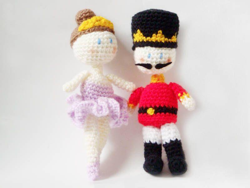 Easy Amigurumi Pdf : Fairy and nutcracker amigurumi pattern sewing needle arts