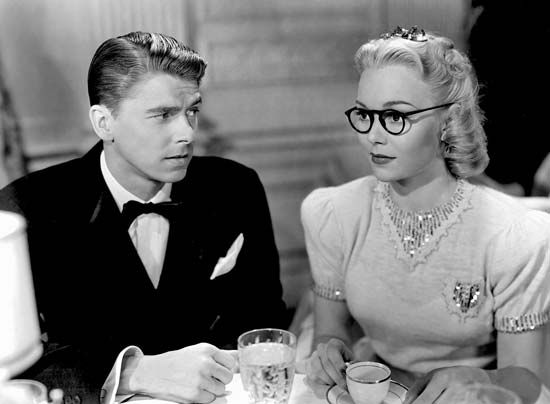 Image result for ronald reagan actor and jane wyman in brother rat