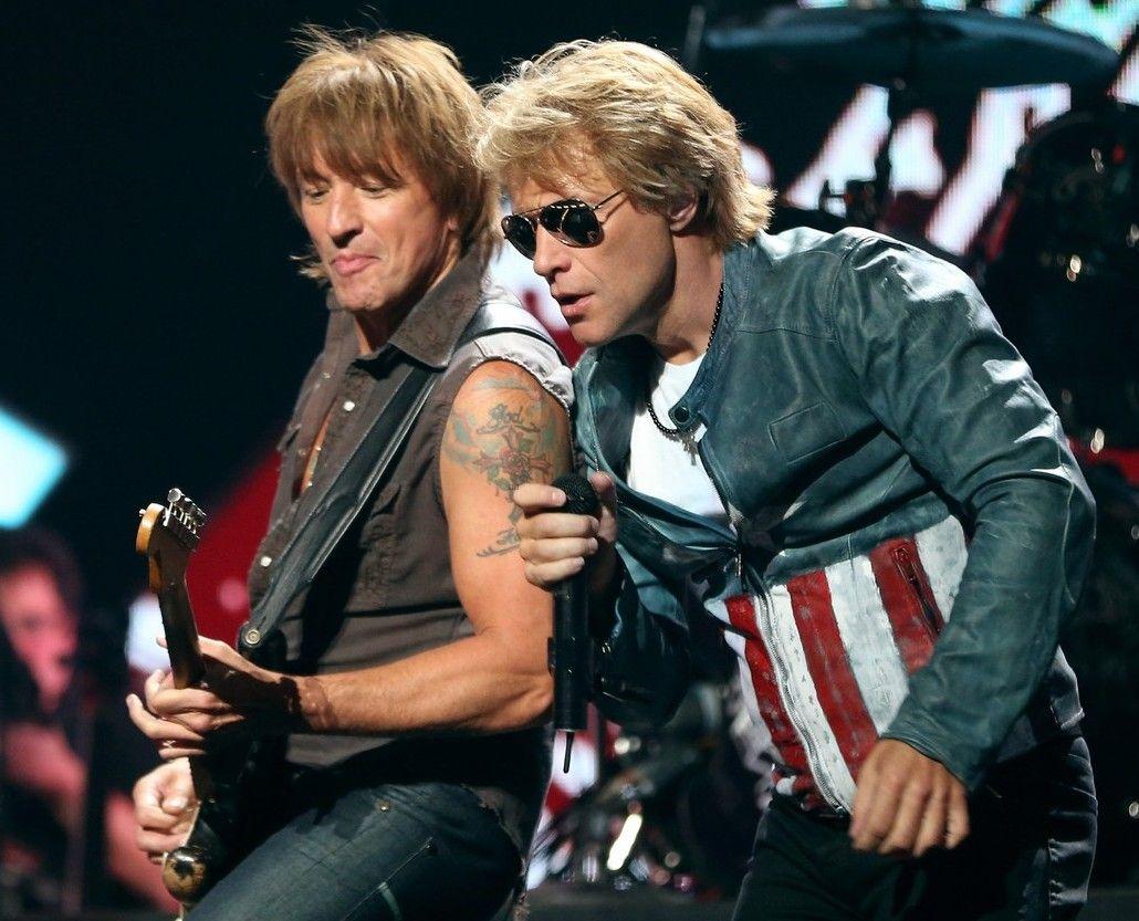 Uma Das Maiores Bandas De Rock De Todos Os Tempos Bon Jovi