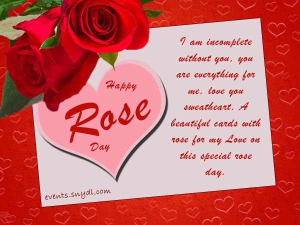 Amazing 25*} Happy rose day greetings cards wishes for fb whatsapp ...