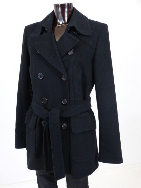 Hugo boss winter mantel schwarz