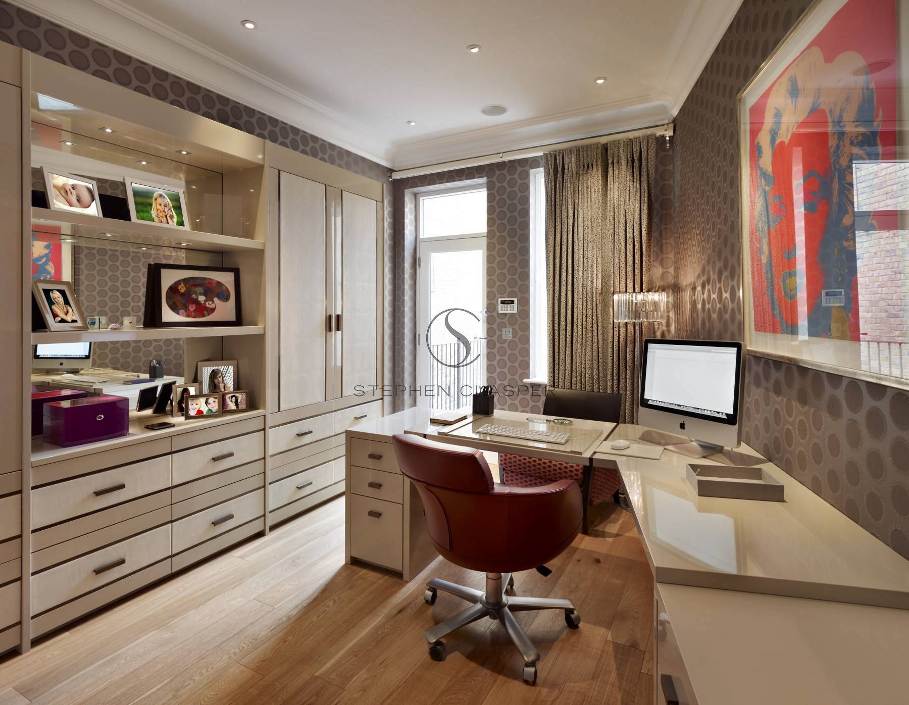 Home office interior ideas home office interior design sunningdale  stephen clasper interiors