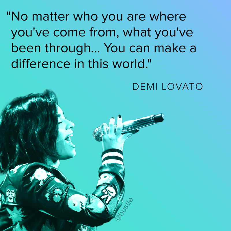 Because Everyone Could Use A Little More Demi Demi Lovato Quotes Body Quotes Demi Lovato Body