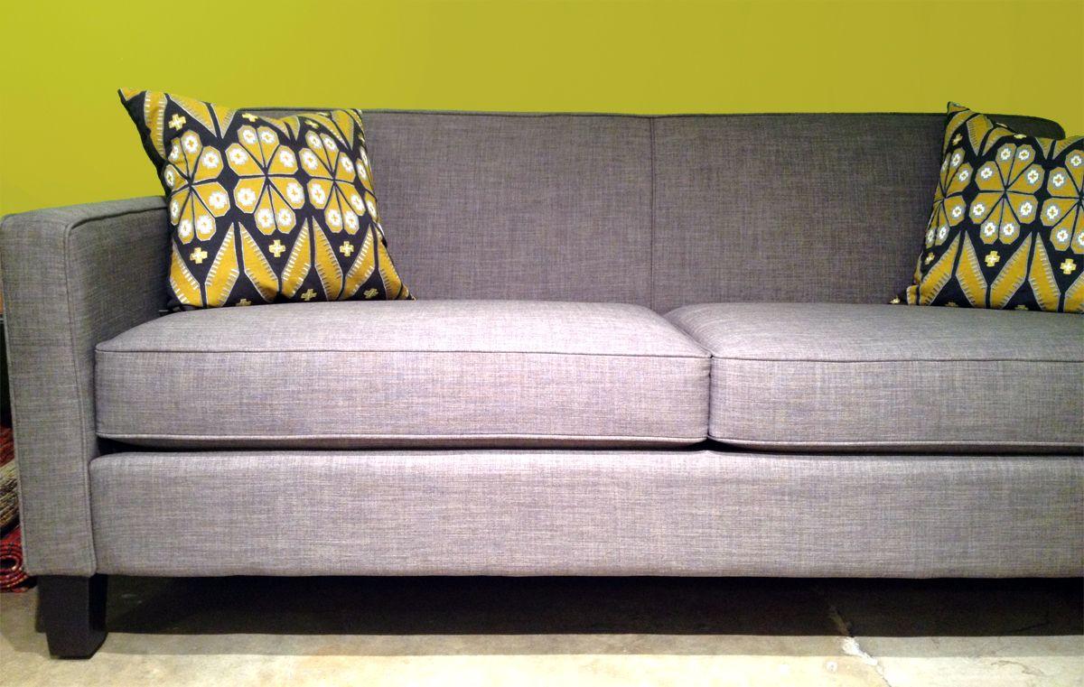 Mid Century Modern In Grey Five Elements Furniture Austin Tx