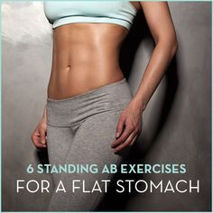 try these standing ab exercises to tone your tummy  fit