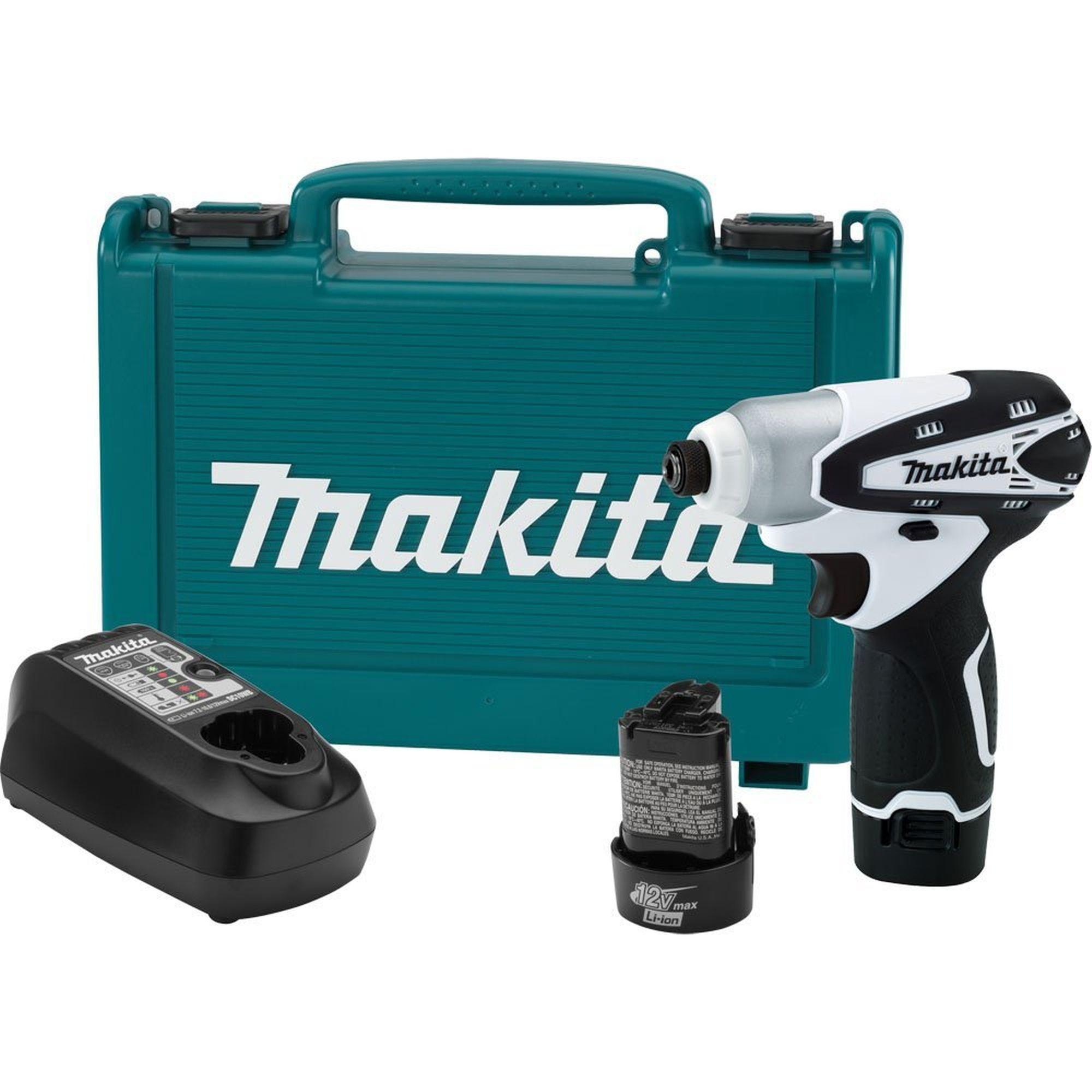 "MAKITA DT01W 12V Max LithiumIon 12 Volt 1/4"" Cordless"