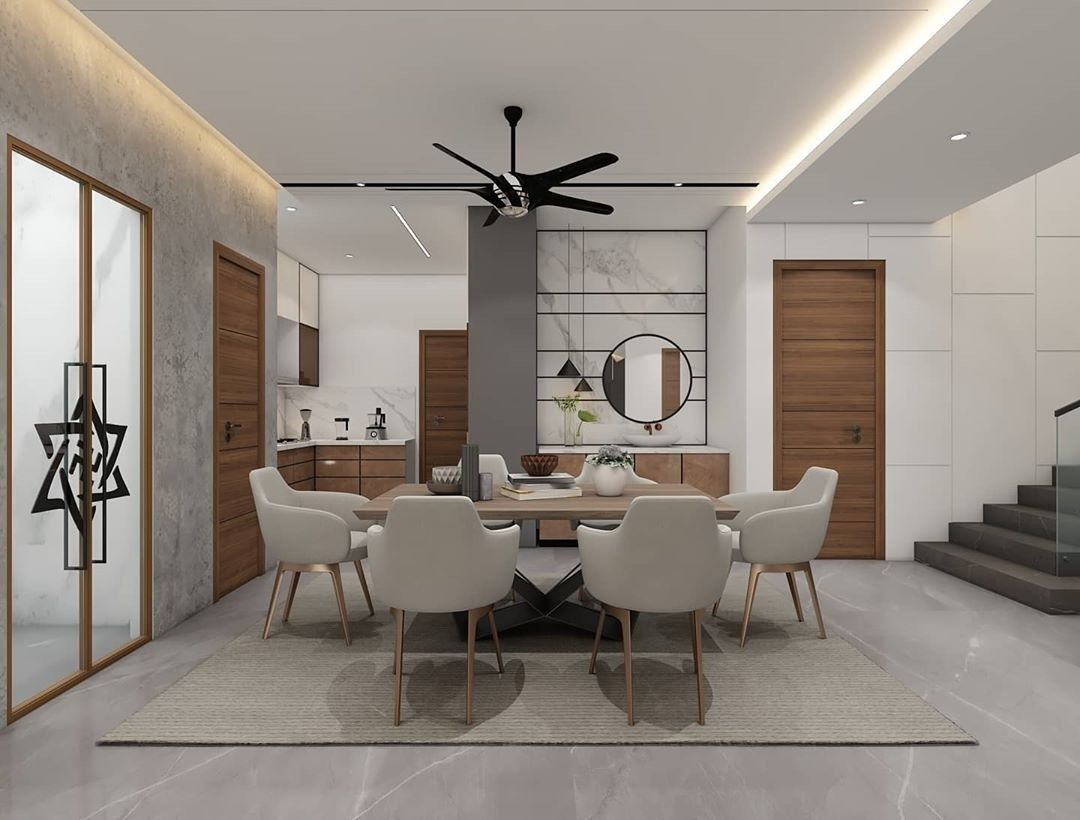 In this space, modern Kitchen connects seamlessly with Dining and Living room. @tvastaar.architects . . . . #interiors #architect #designer #architecture #archdigestdesignshow #architecturelover #arquiteturadeinteriores #insideoutside #architecturemagazine #hyderabadarchitecture #texture #framing #interiormagazine #iiidindia #visualarchitects #art #composition #theinteriorbuzz #morphlit