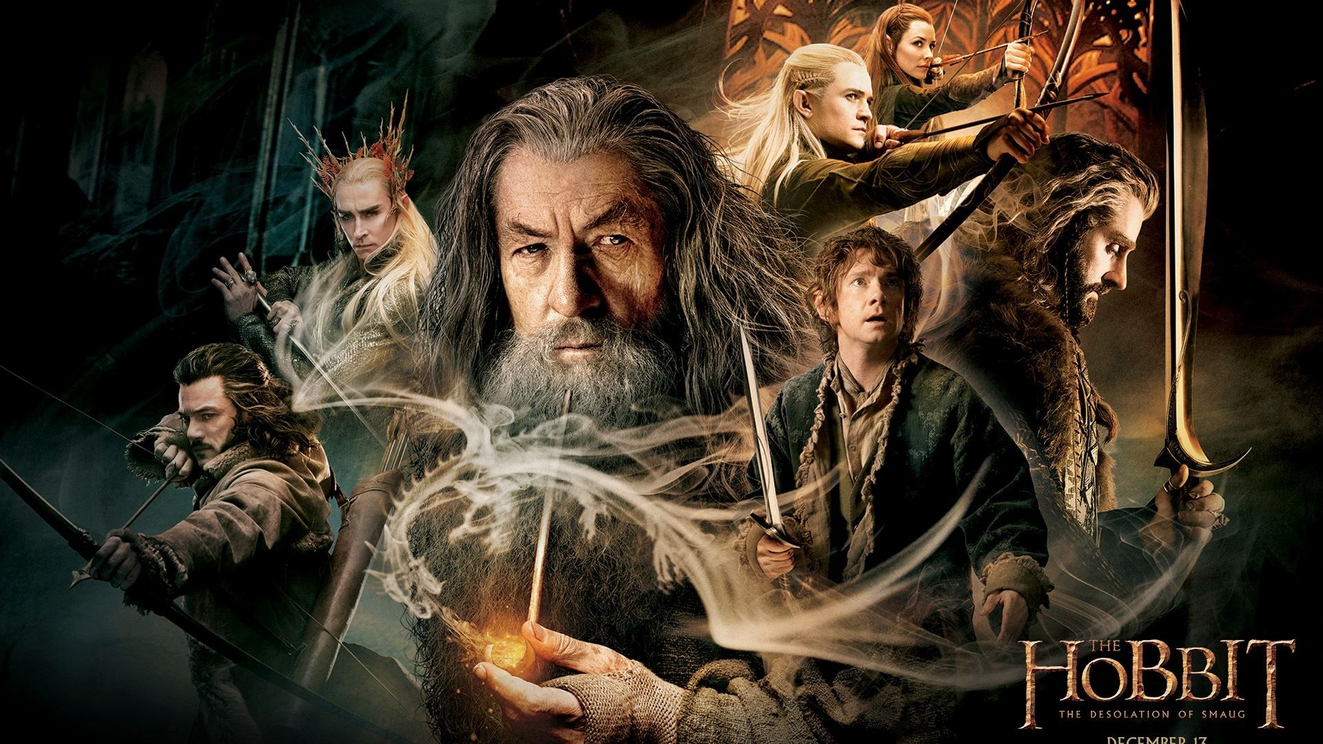 Download Wallpaper 1920x1080 The Hobbit The Desolation Of Smaug
