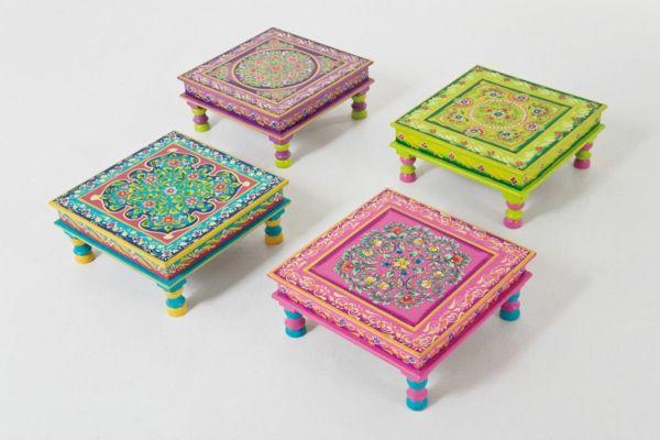 Bemalte Möbel mit romantischen Motiven für Zuhause #bemalte #mobel