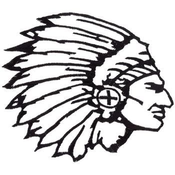 Indian Chief Head Outline Embroidery Design Indian Chief Tattoo