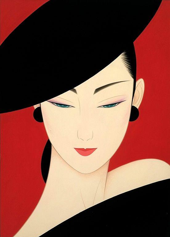 Tsuruta ichiro google search japanese vector art and for Sei bella e non per quel filo di trucco