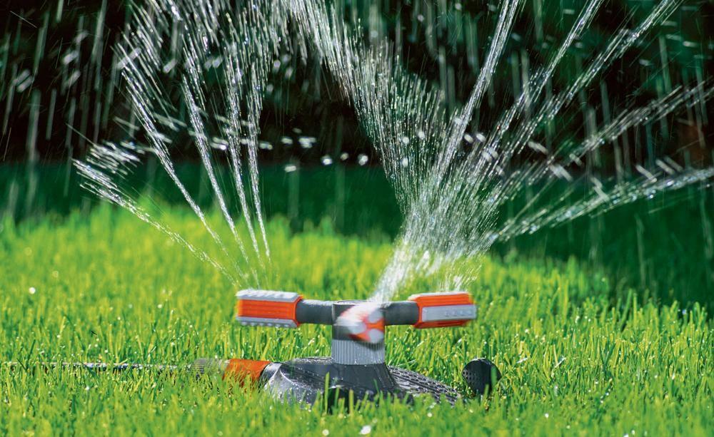 Rasen richtig bewässern - pflegeleichter garten anlegen