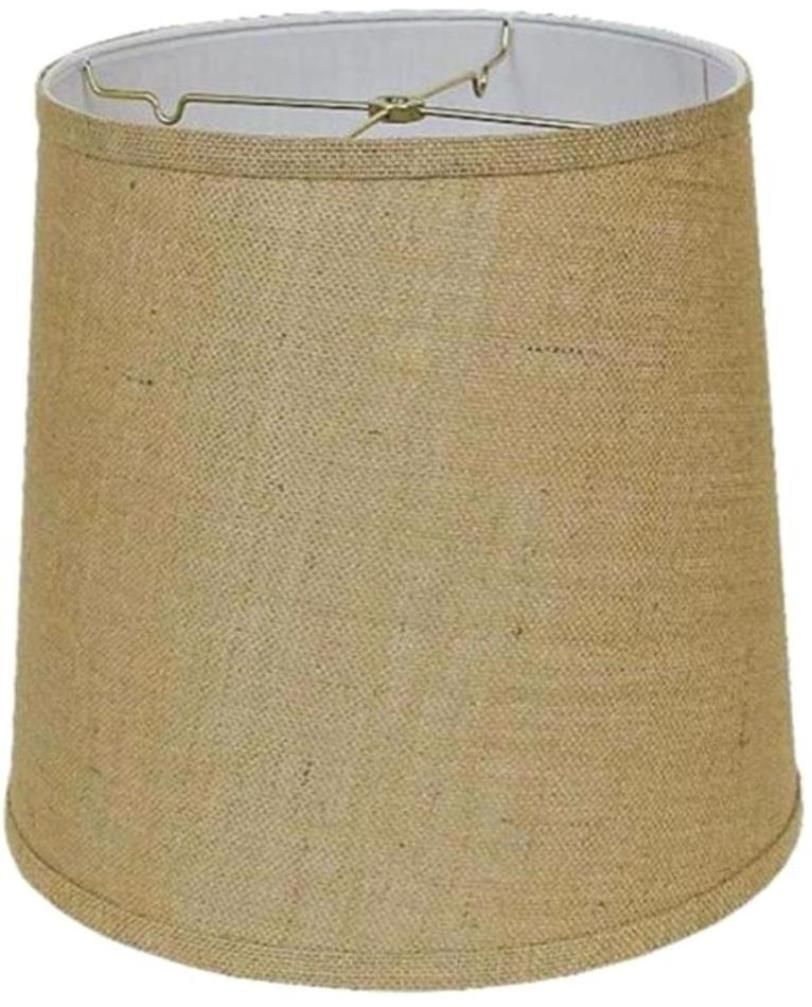 Tall drum burlap lamp shade 12 18w usa american made lamp shades tall drum burlap lamp shade 12 18w mozeypictures Images