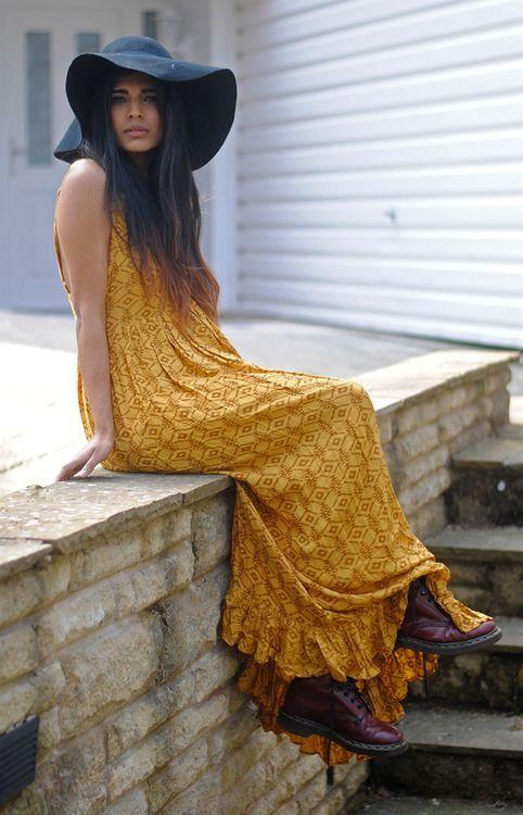Maxi dress, Brown maxi dresses
